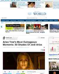 50 Shades Of Jodi Arias Crazy Moments From: Huffington Post